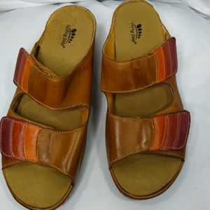 Spring Step Leather Sandals 41